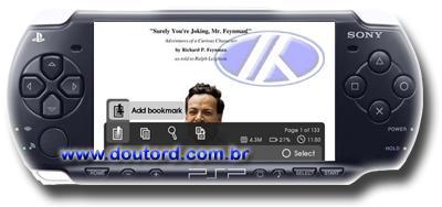 PSP lendo PDF